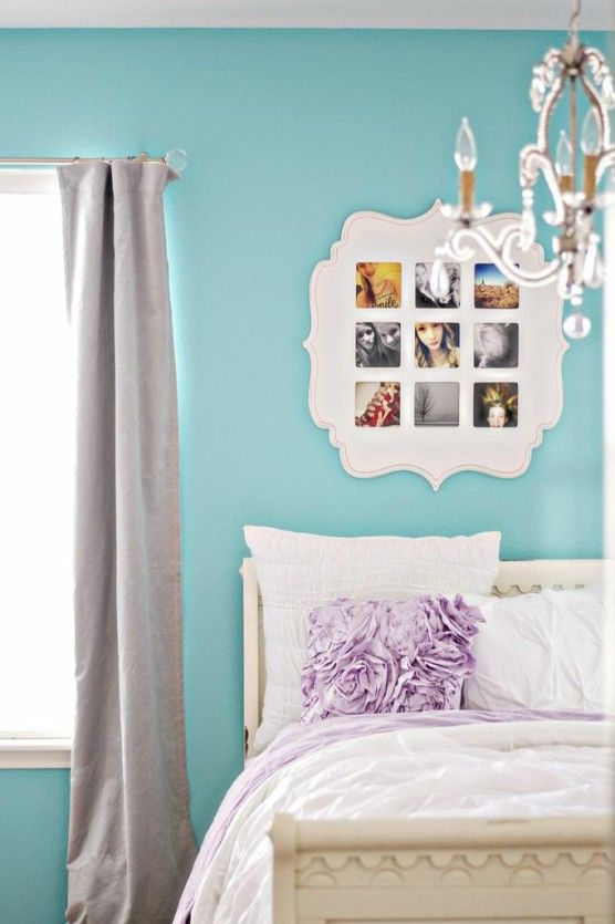 Want my hubby to make the white picture montage frame on the wall.