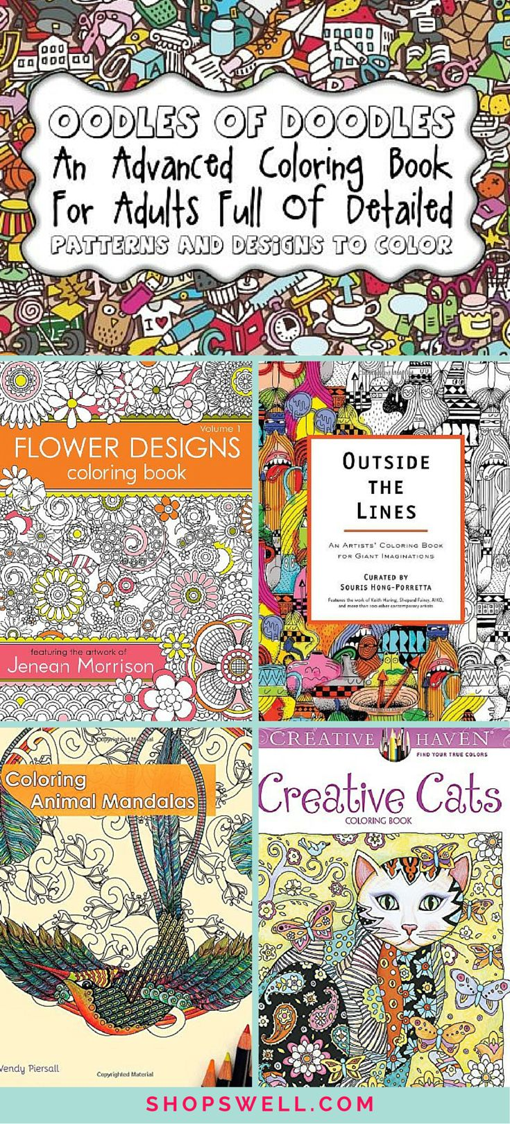 Color art living wonders adult coloring book front cover adult