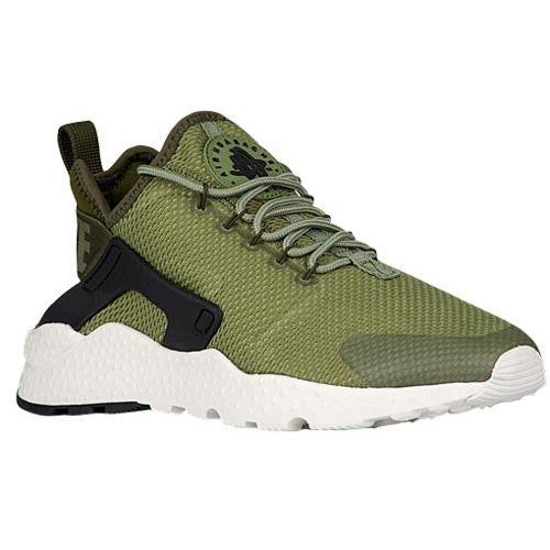 8a0b4ae5be7b Nike Air Huarache Run Ultra - Women s Style  Palm Green Legion Green  Black Sail