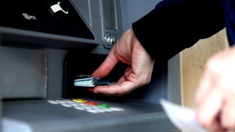 Cash machines robbed with USB sticks