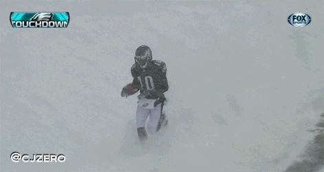 DeSean Jackson busts out Cousin Terio dance during snowstorm (GIF ...