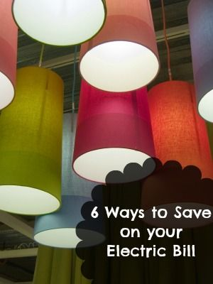 6 Ways to Save Money on Your Electric Bill | Frugal Living Tips