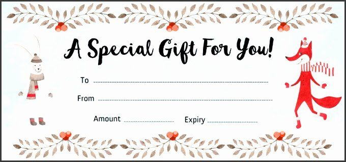 Make A Gift Certificate Free Unique 9 Make Your Own Gift Voucher Template Sampletemplatess Samplete Make A Gift Templates Printable Free Greeting Card Template