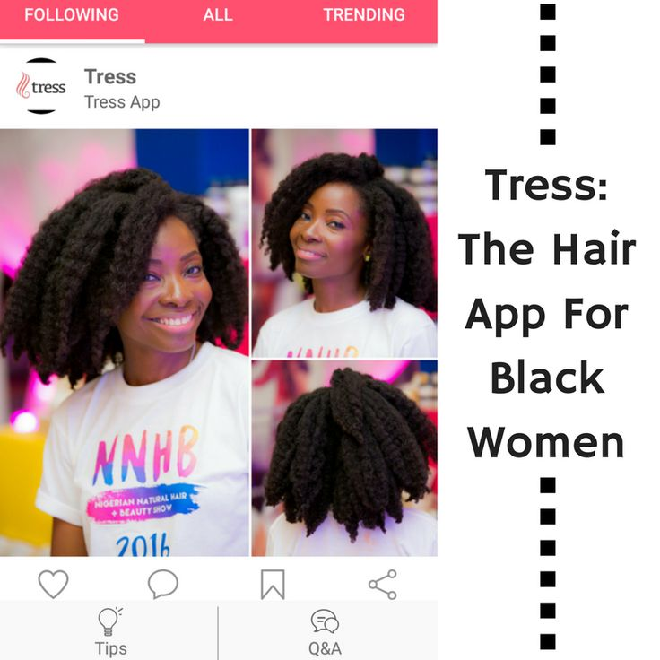 Introducing Tress The Hair App For Black Women
