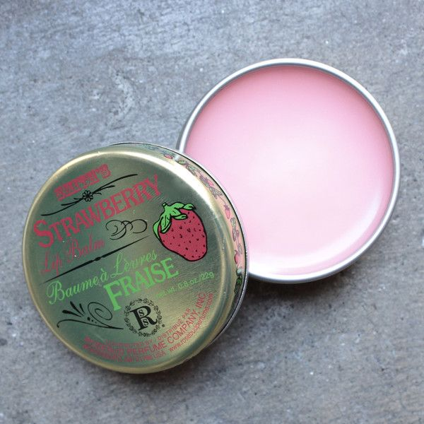 A strawberry-scented lip balm to soothe dry lips. Content + Care Wipe clean craftedin the USA by rosebud perfume co. Size- 0.8 oz