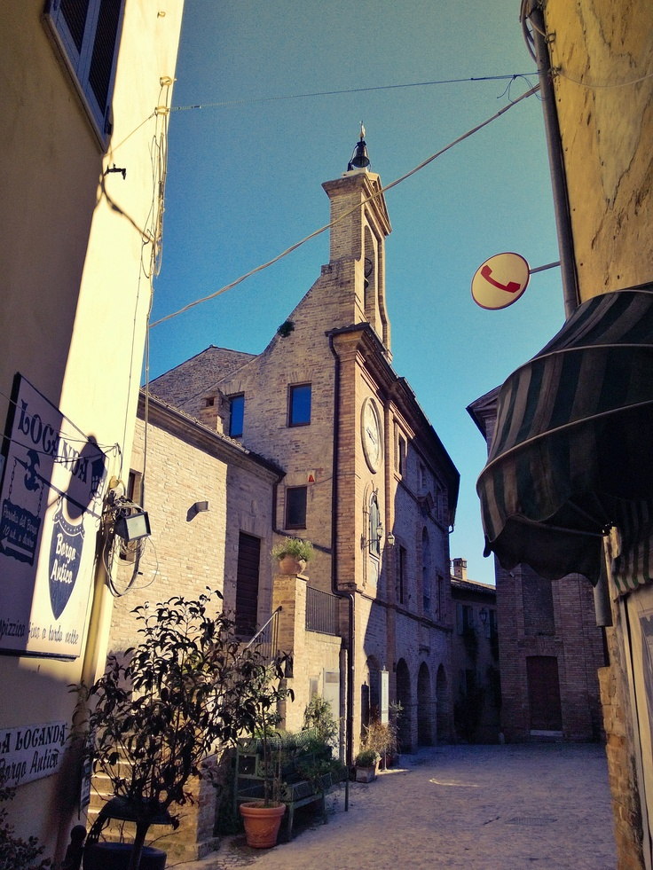 The old town of Grottammare, Marche Region Italy  ph Eurotel Grottammare