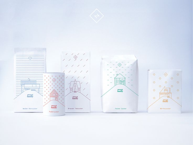 Corporate Design: Sugar Packaging by Benjamin Rückert on Feb 5, 2016