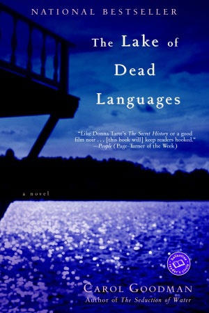 The Lake of Dead Languages- where I got my first quoted ink ' Which of us can say what the Gods hold wicked'