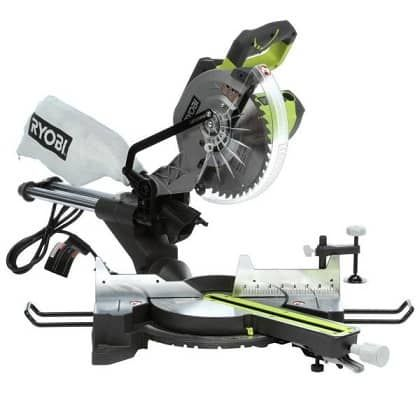 Ryobi 15-Amp 10 in. Sliding Miter Saw with Laser Home Depot HOT Deals Today has the lowest price deal for Ryobi 15-Amp 10 in. Sliding Miter Saw with Laser $129. It usually retails for over $199, which makes this a HOT Deal and $50 cheaper than the next best available price. Free...