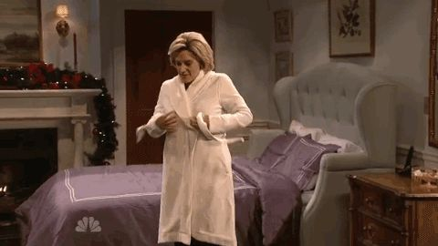New trending GIF on Giphy. snl saturday night live hillary clinton kate mckinnon robe undressing undress pant suit unrobing. Follow Me CooliPhone6Case on Twitter Facebook Google Instagram LinkedIn Blogger Tumblr Youtube