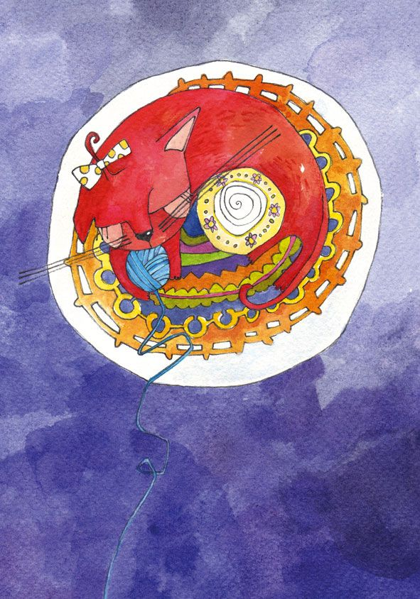 Viviana Bilotti *** The Moon, Cat Constance & C*