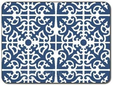 Parterre Blue Placemats (set of 6)  REQUESTED