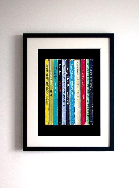 Ryan Adams Poster Print 2014 Eponymous Album As by StandardDesigns