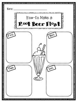 This product will make a perfect addition to your how-to writing unit! I used this when making Root Beer Floats at the end of our how-to unit.  Students can write or draw to show how-to make a root beer float!