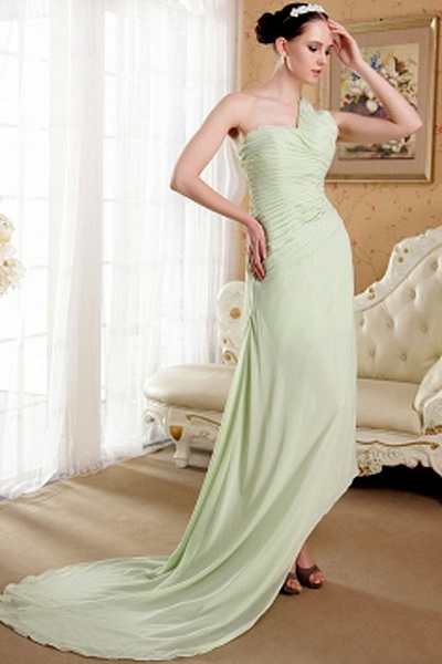 Elegant Ein-Schulter-A-Line Party Dress ba1701 - http://www.brautmode-abendkleid.de/elegant-ein-schulter-a-line-party-dress-ba1701.html - Ausschnitt: Eine Schulter. Stoff: Chiffon. Ärmel: Ärmellos. Farbe: Grün. Silhouette: A-Line. - 195.59