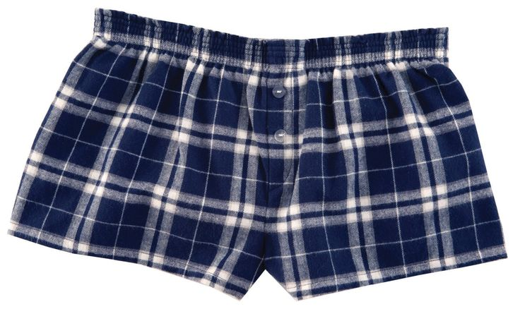 Flannel Bitty Boxers