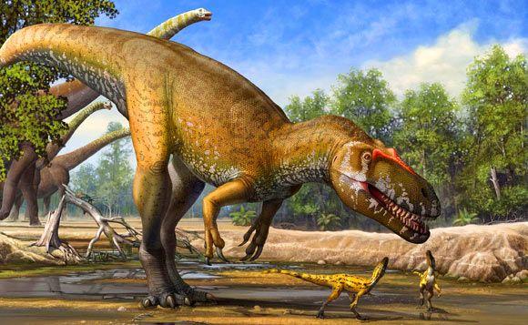 Torvosaurus gurneyi: New Giant Dinosaur Discovered in Portugal during the Jurassic.