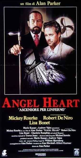 Angel Heart - Ascensore per l'inferno USA: 1987 Genere: Thriller Durata: 115' Regia: Alan Parker Con: Robert De Niro, Mickey Rourke, Charlotte Rampl