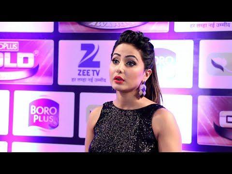 Hina Khan looks SUPER STUNNING at Zee Gold Awards 2016.