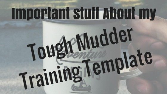 I'll tell you how to train for your Tough Mudder at home. I've used my methods to run 2 Tough Mudders successfully. You can do this, too.
