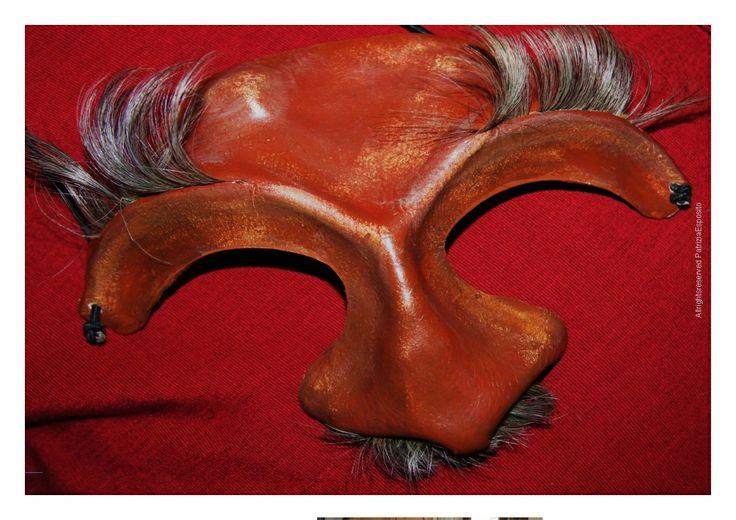 Commedia dell'arte mask Il dottore