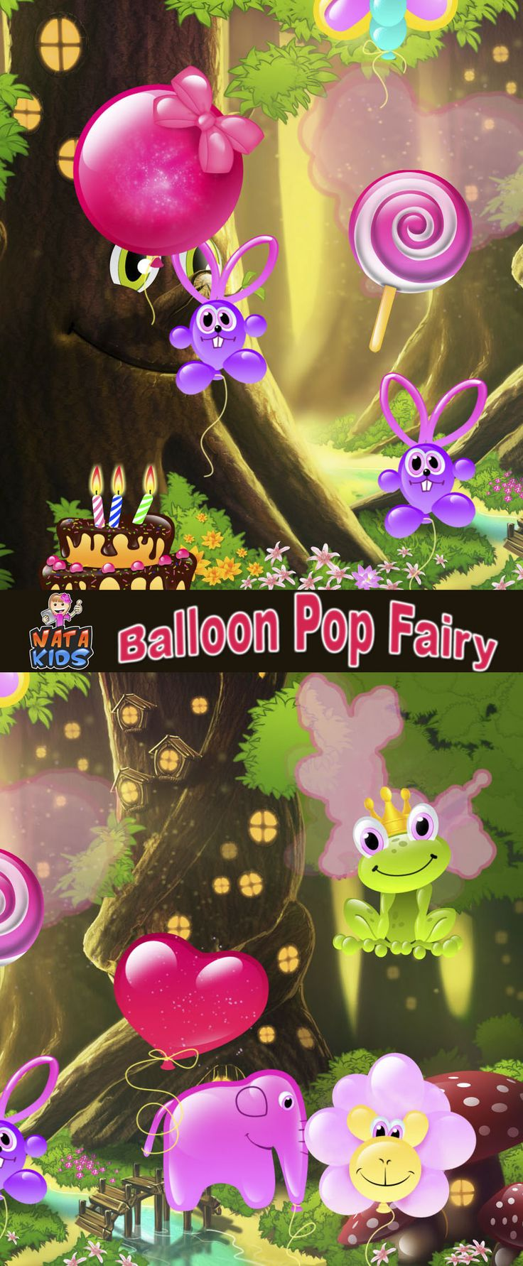 Phone Free Kids Games For Android Phones balloon pop fairy free toddlers game for android phone and devices