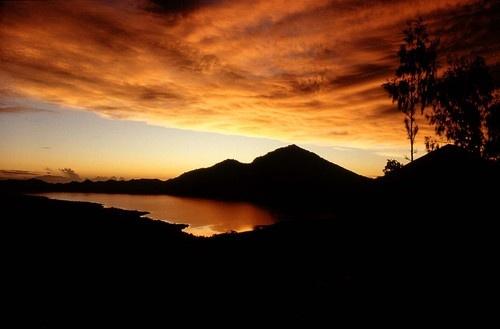 Mount Batur at Dawn, Bali Island