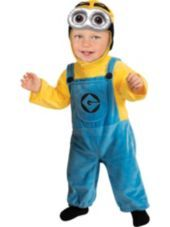 Toddler Boys Dave Minion Costume - Despicable Me 2 - Party City