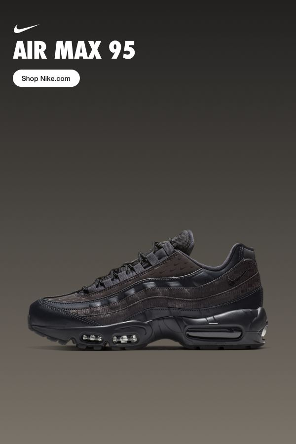 1cebc7f845f52f Iconic style reborn. The Air Max 95 is now available on Nike.com ...