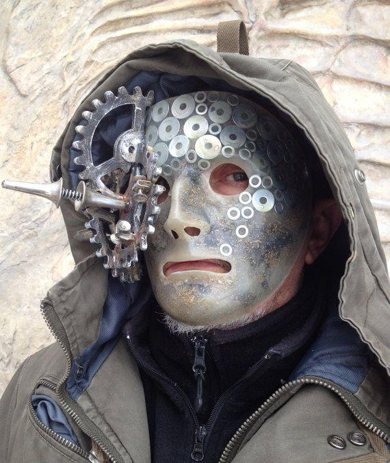 Neu 2017 Mad Max cosplay Kostüme Steampunk Mask