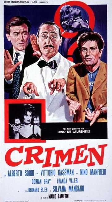 Crimen (1960)   FilmTV.it