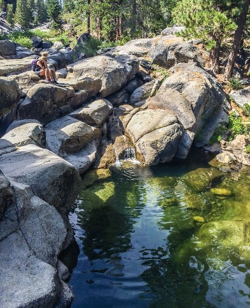 Just South Of Yosemite National Park Is Dinkey Creek Right Near The Campgrounds Are Honeymoon Pools Which Have A Couple Little Trails