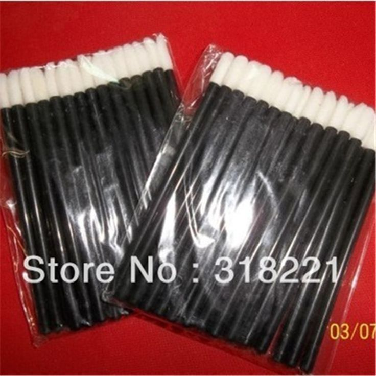 Wholesale Price for  1000  pcs Best Disposable Lips Brush lipbrush Wands Applicator high quality Helpful makeup tool