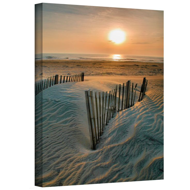 Steven Ainsworth 'Sunrise Over Hatteras' Gallery-Wrapped Canvas | Overstock.com Sale Starts at: $51.29