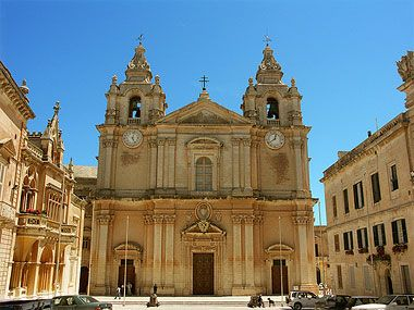 St Paul's Cathedral, Mdina, Malta. A peaceful place to say a quiet prayer