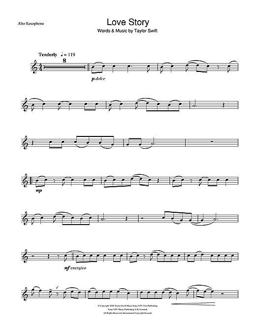 taylor swift alto saxophone sheet music | To view and print this score, you will…