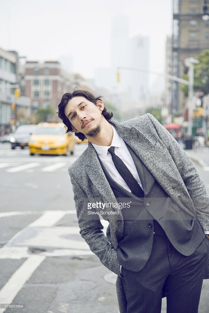 Actor Adam Driver is photographed for Vogue magazine on October 4, 2012 in New York City.