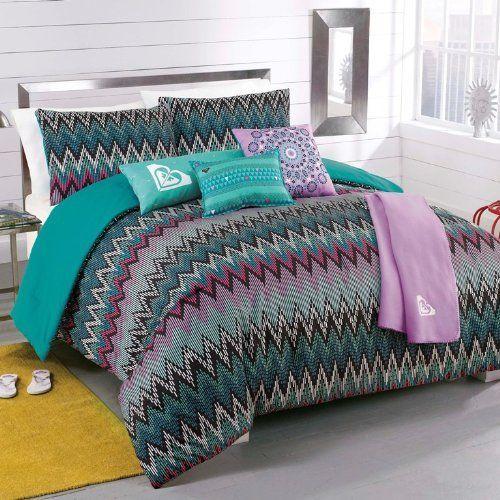Roxy Tribal Dash Comforter Sham Body Pillow Throw Bedding Set by Roxy $99.99