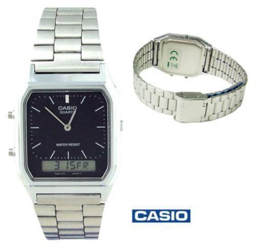 CASIO - Analogue/ Digital Watch (AQ-230A-1DMQYES) Black Face  BNIB - BUY NOW @ 35.00 + £2.94 postage