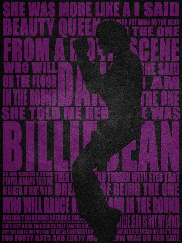 Michael Jackson Lyrics! on Behance (With images) Dalszövegek