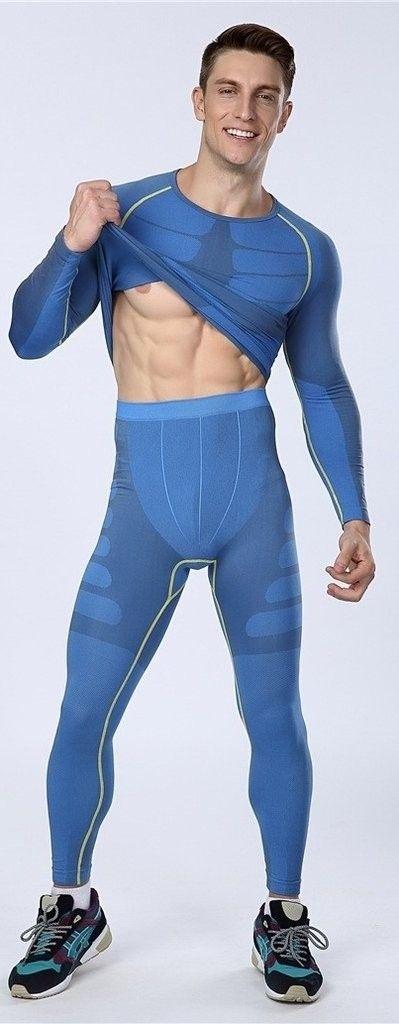 Calça Masculina Legging Running Fitness Térmica Compressão Importada  - comprar online