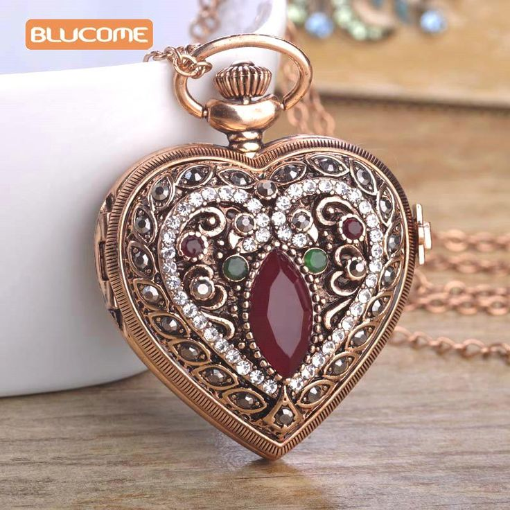 Love Heart Sapphire Pocket Watches For Women Sweater Vintage Turkish Pendant Necklace Bronze Quartz Pocket Watch With Necklace Do you want itVisit us:  http://www.jewelryabo.com/product/love-heart-sapphire-pocket-watches-for-women-sweater-vintage-turkish-pendant-necklace-bronze-quartz-pocket-watch-with-necklace/ #shop #beauty #Woman's fashion #Products #homemade