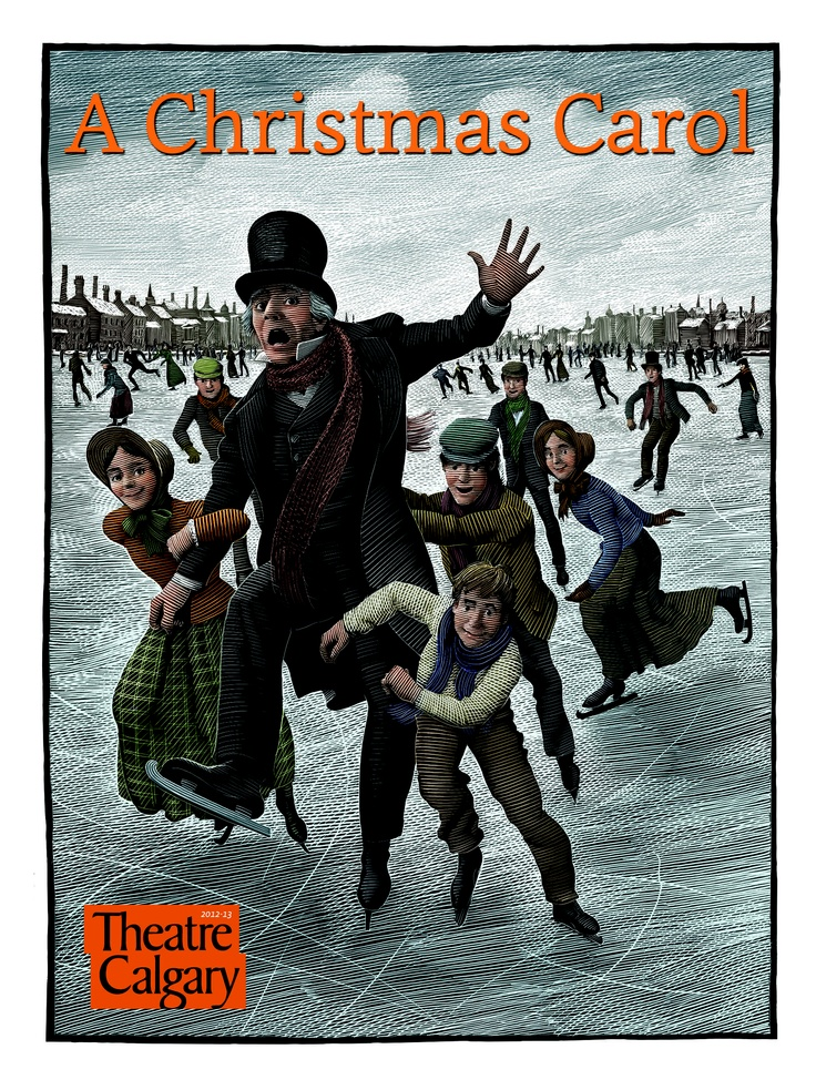 A Christmas Carol by Charles Dickens, adapted by Dennis Garnham, starring Stephen Hair as Ebenezer Scrooge. November 29 - December 23, 2012.