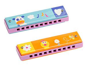 A brightly coloured wooden harmonica from Boikido. We can hear some delightful tunes being played around the house using this! A favourite of speech therapists, harmonicas are used to improve muscle tone in the lips #musicaltoys #Boikido #Christmas2013 #Stockingstuffers