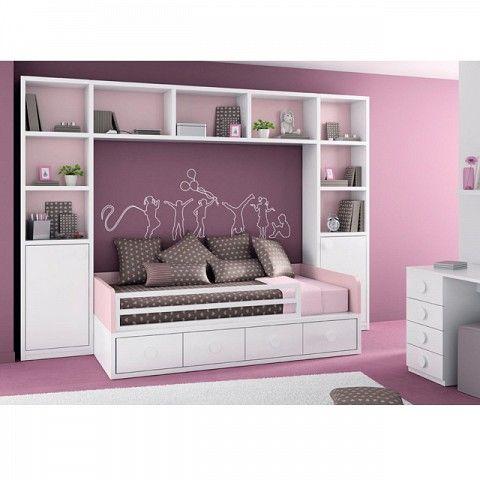 ΠΑΙΔΙΚΑ ΈΠΙΠΛΑ->Παιδικά κρεβάτια->Κρεβάτι παιδικό σετ 02 - www.petitemaison.gr
