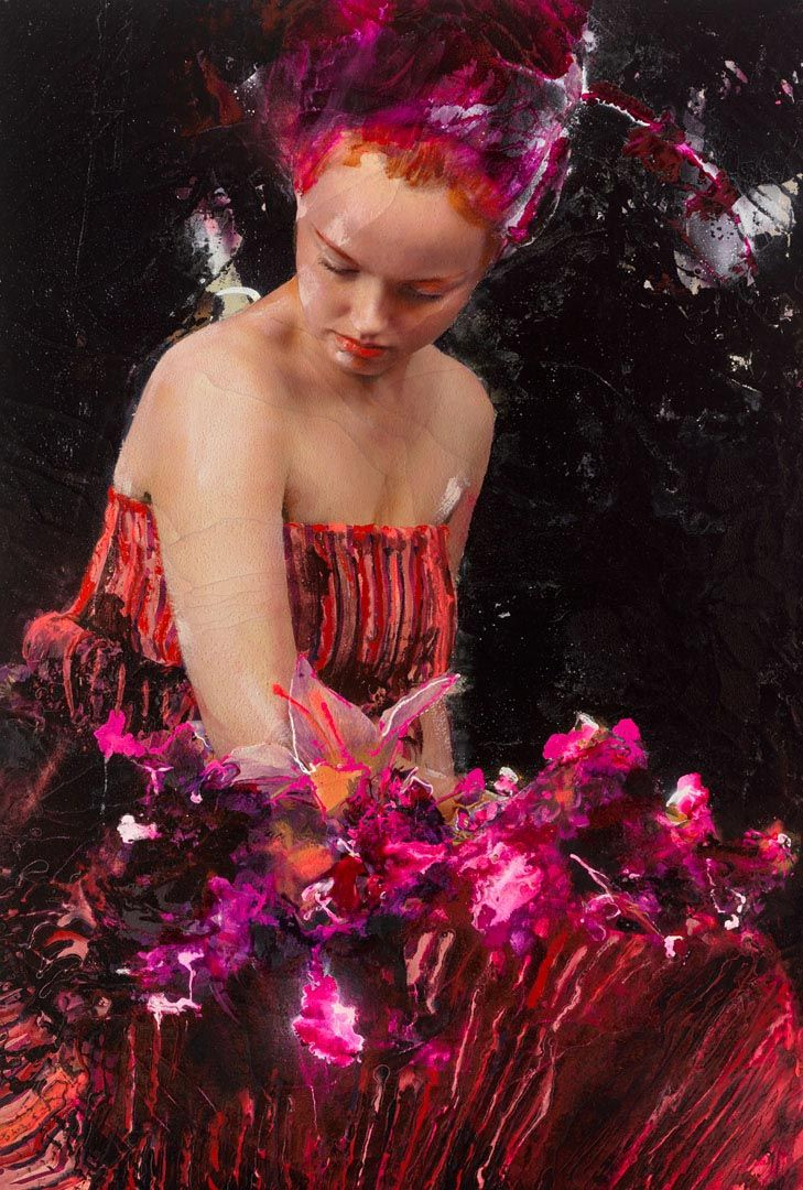 """On the occasion of the Dubai Art Week, Opera Gallery is proud to invite you to LITA CABELLUT """"THE COLOR OF DEW"""