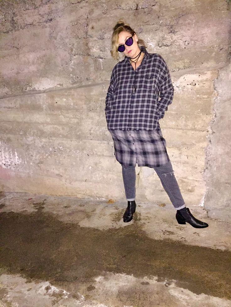 Fashionable Female Flannel thefwordparadox.com