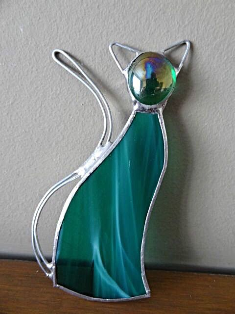 Free-standing Stained Glass Sun Catcher