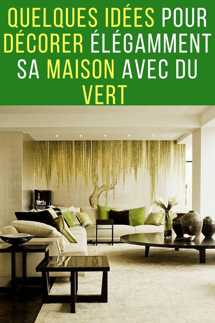 Quelques id es pour d corer sa maison avec du vert d coration pinterest d coration maison - Decorer sa maison minecraft ...