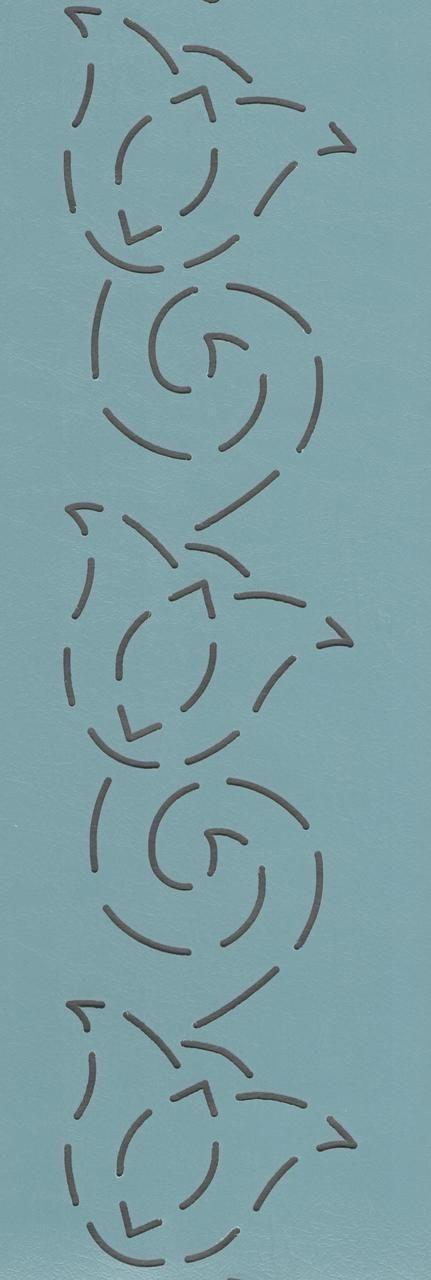 """Tulip Path 2.5"""" - The Stencil Company"""